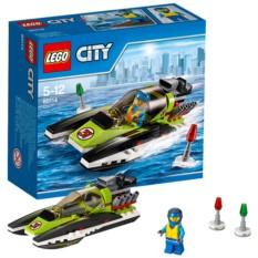 Конструктор Lego City Гоночный катер