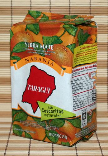 Мате Taragui con naranja