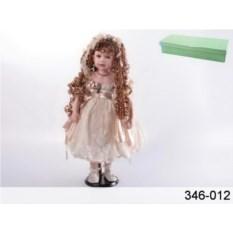 Фарфоровая кукла в кремовом платье от Reinart Faelens