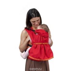 Красный слинг-рюкзак Дочкомобиль Чудо-Чадо