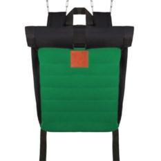 Ролл-топ рюкзак с изменяющимся объемом (цвет — зеленый)
