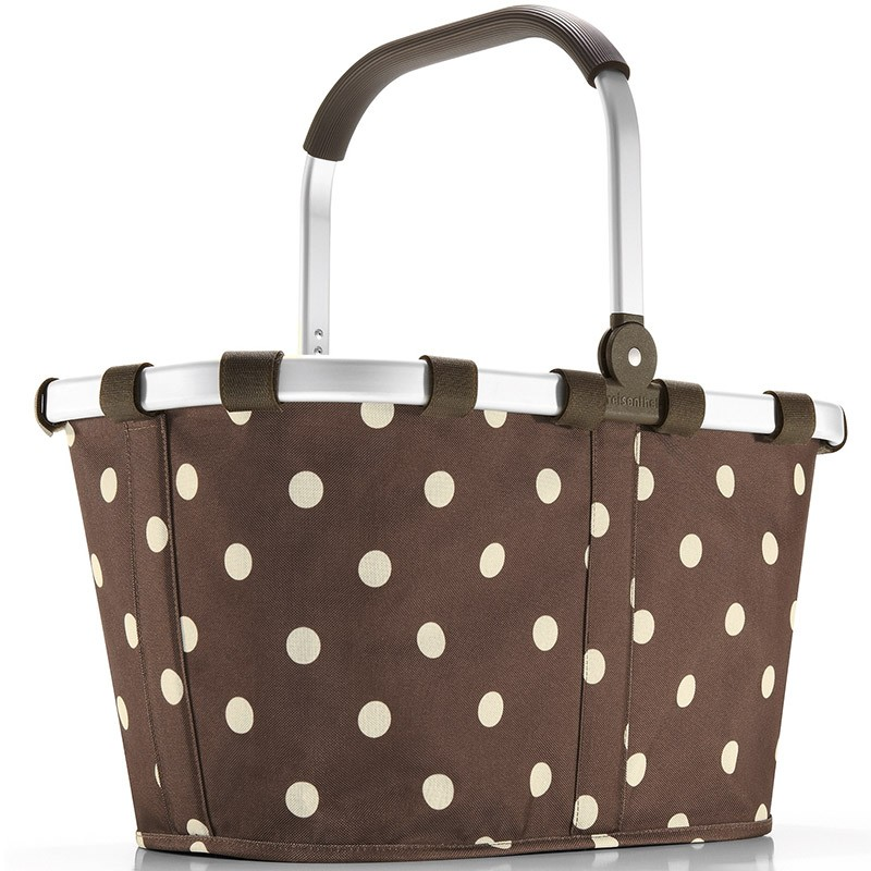 Корзина Carrybag mocha dots