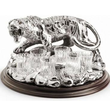 Набор для водки Тигр