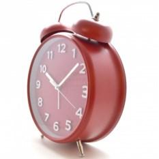 Часы-будильник Гигант (цвет: красный)