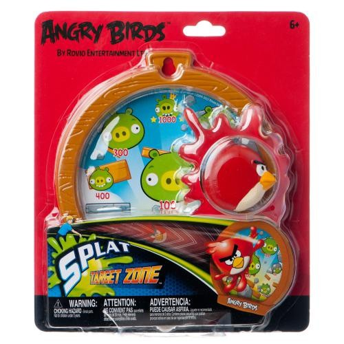 Игра Дартс Angry Birds с лизуном