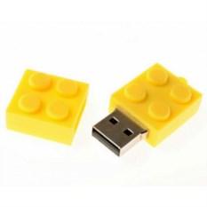 Флешка LEGO (цвет — желтый)