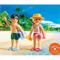 Конструктор Playmobil Summer Fun Посетители пляжа