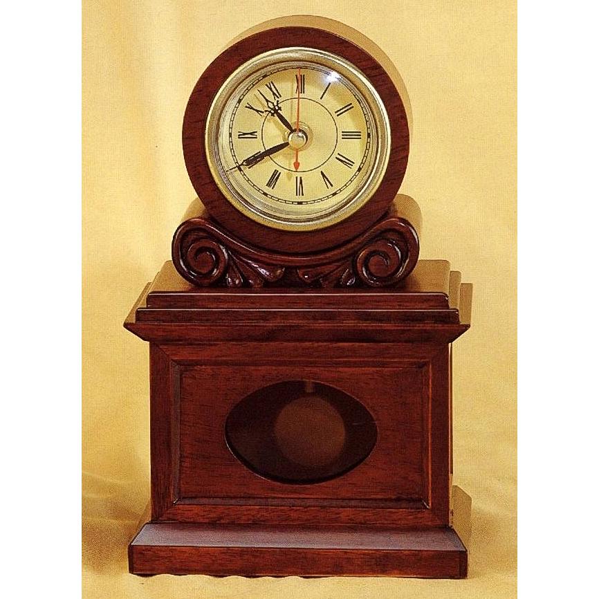 Ретро-часы из дерева