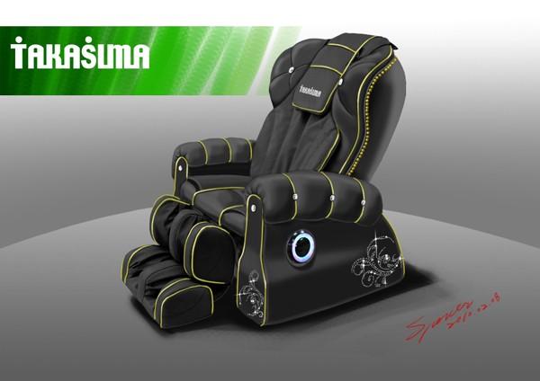 Массажное кресло Takasima VIP