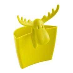 Сумочка для чаепития Лосяш Рудольф горчичного цвета