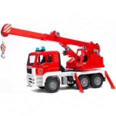 Игрушка Пожарная машина автокран MAN