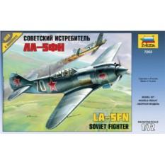 Сборная модель Советский истребитель Ла-5ФН