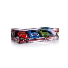 Игровой набор из 3-х машинок Мстители