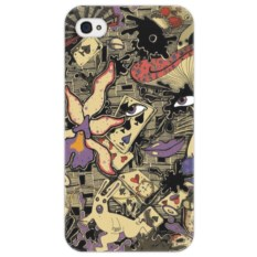 Чехол для iPhone 4/4S Алиса в стране чудес