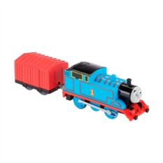 Машинка Mattel Thomas&Friends Паровозик Томас с вагоном