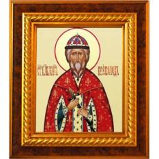 Икона на холсте Всеволод Псковский и Новгородский