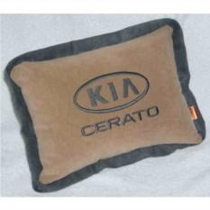 Бежевая подушка с кантом Kia cerato