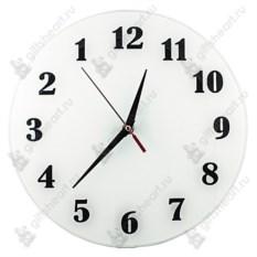 Часы с обратным ходом Классика в белом