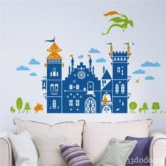 Интерьерная наклейка Средневековый замок