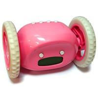 Часы-будильник Инопланетянин (розовый)