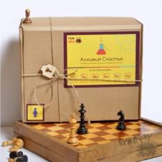 Коробочка-сюрприз Мужская алхимия счастья
