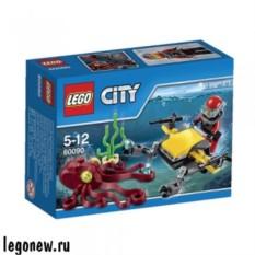 Конструктор Лего Глубоководный Скутер