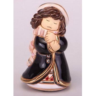 Статуэтка декоративная «Девочка Зима»