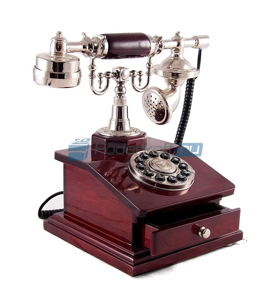 Кнопочный ретро-телефон Картер