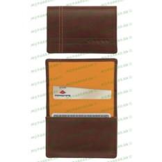 Коричневый кожаный футляр для визитных карточек Cross Legacy