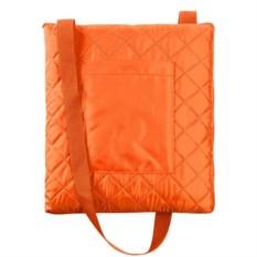 Темно-оранжевый плед для пикника Soft&Dry