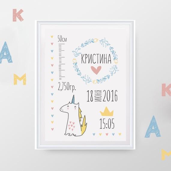 Метрика Единорожка