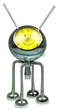 Часы настольные Робот с будильником