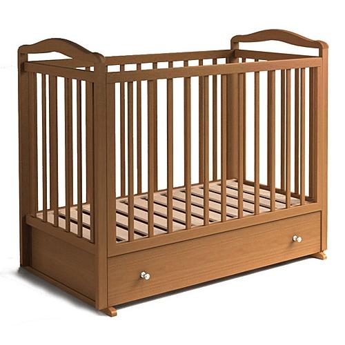 Кроватка детская с маятником КРД-2
