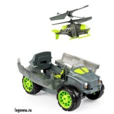 Игрушечная бронемашина с вертолетом-разведчиком Airhogs