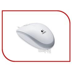 Мышь Logitech B100 USB White