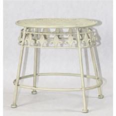 Кофейный столик в стиле прованс с потертостями
