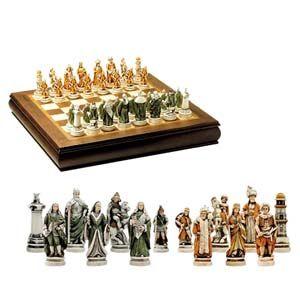Шахматы подарочные «Битва при Лепанто»