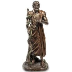 Статуэтка Асклепий. Бог медицины и врачевания