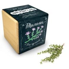 Набор для выращивания тимьяна Ecocube Black