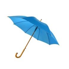 Полуавтоматический зонт-трость «Радуга» цвета морской волны