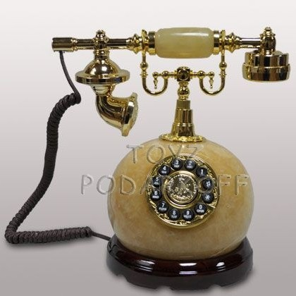Телефон кнопочный Нардин (оникс)