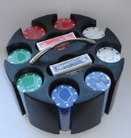 Набор для покера Round Case 200 4 гр.