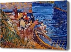 Репродукция картины Ван Гог Прачки