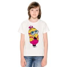 Детская футболка Миньон — девочка