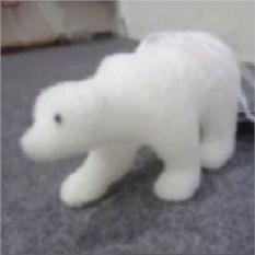 Елочная игрушка Белый медведь