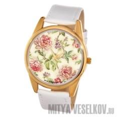 Часы Mitya Veselkov Пионы