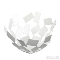 Ваза для фруктов la stanza dello scirocco белого цвета