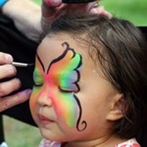 Веселый боди-арт для детей