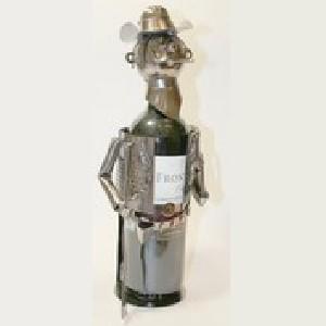 Декоративная подставка для бутылки Охотник
