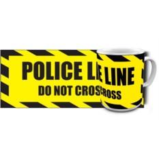 Кружка Police line